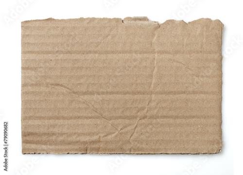 Fotomural  Cardboard piece