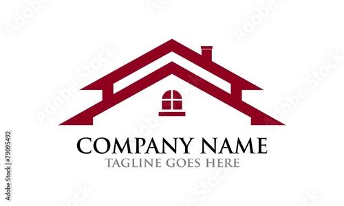 Fototapeta House Vector Logo Design Template
