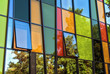 canvas print picture - Glasfassade