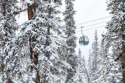 Fotografie, Obraz  Ski resort