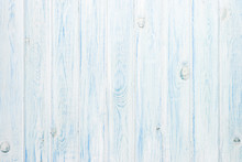 White And Blue Wooden Plank Texture