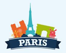 Paris Design, Vector Illustrat...