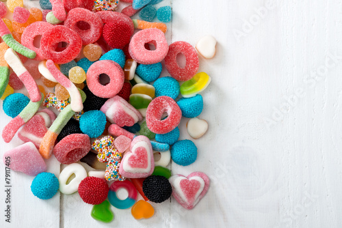plakat Słodycze