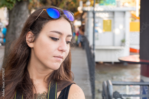 Photo Portrait of a beautiful girl