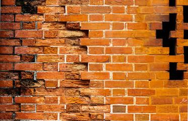 FototapetaOld brick wall as background