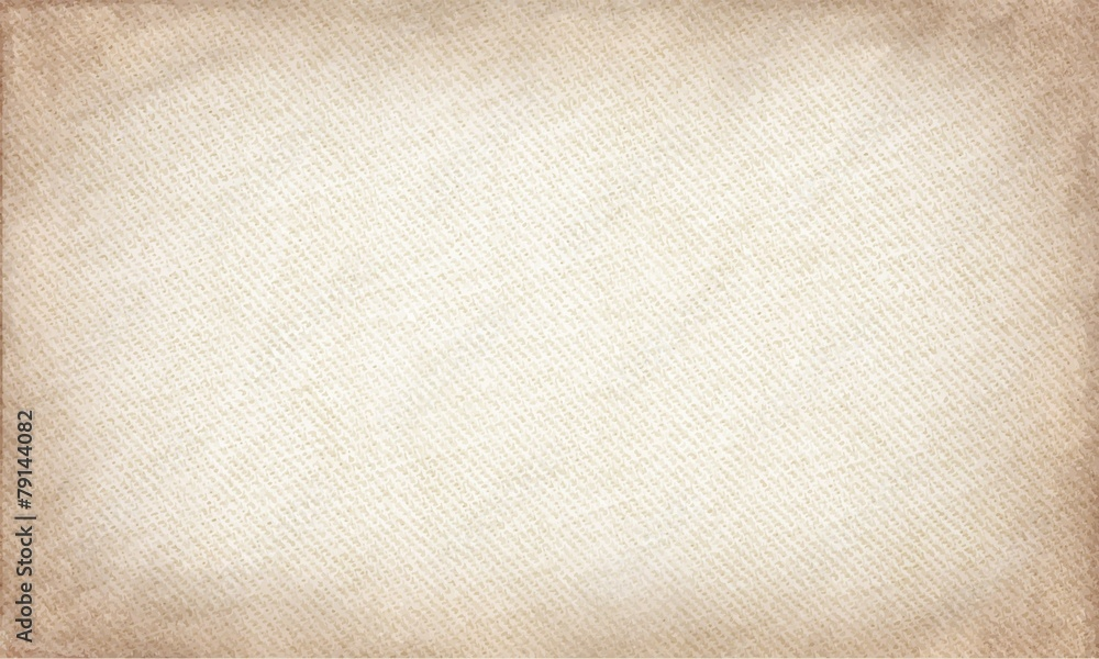 Fototapeta beige canvas texture. grunge horizontal background