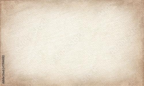 beige canvas texture. grunge horizontal background Fototapet