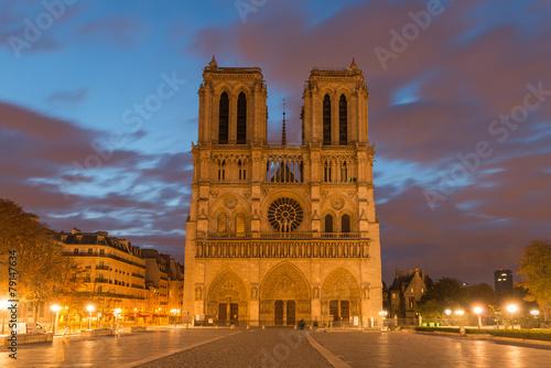 Photo sur Toile Europe Centrale Notre Dame Paris