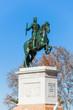 Statue of Philip IV, in Oriente Square, Madrid.
