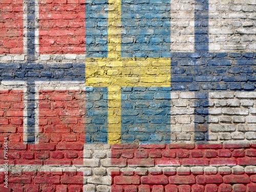 Staande foto Scandinavië Scandinavia