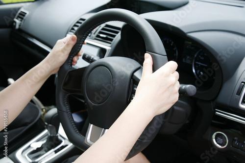Fotografie, Obraz  車の運転