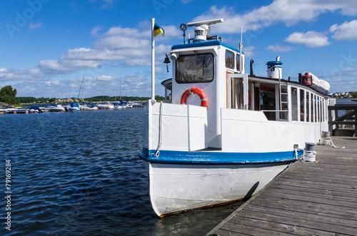 Passenger Boat For Sightseeing In Karlskrona