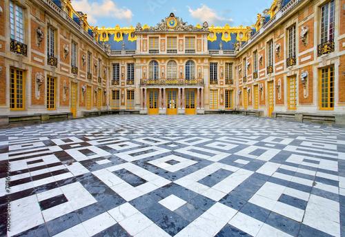 Foto op Plexiglas Kasteel Château de Versailles
