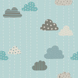 Funny clouds pattern. - 79169416