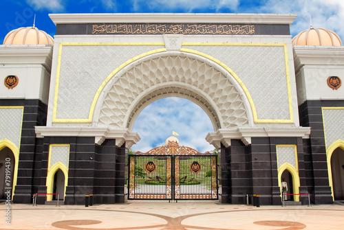 Gate of Royal Palace Istana Negara (Istana Negara), Kuala Lumpur Poster