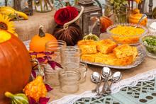 Fall Autumn Platter With Corn ...