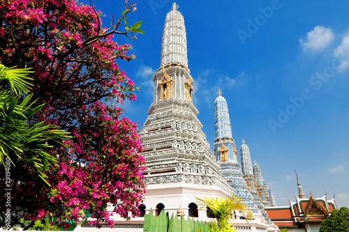 Photo  Temple  Phra Kaew, Bangkok, Thailand