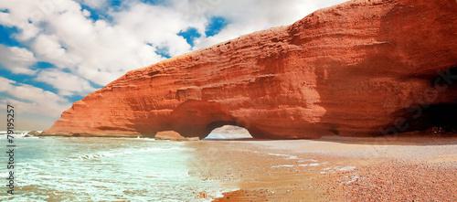 Fotoposter Marokko Legzira beach, Sidi Ifni, Souss-Massa-Draa, Morocco