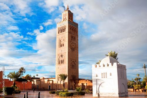 Papiers peints Maroc Koutoubia mosque, Marrakech, Morocco