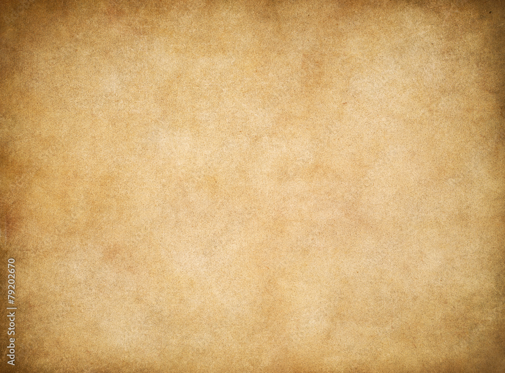 Fototapety, obrazy: Vintage aged worn paper texture background