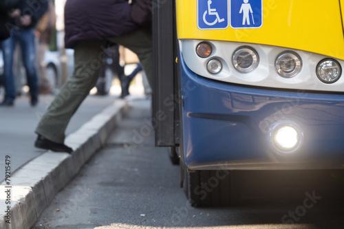 Zdjęcie XXL Transport publiczny.