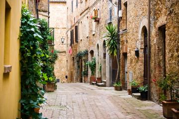 Fototapeta Uliczki Tuscan Village in Italy