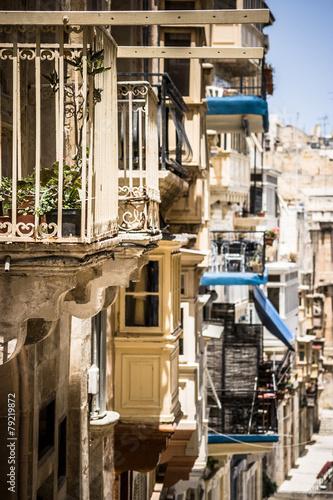 In de dag Havana Balconies in Malta