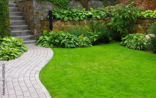Foto op Canvas Tuin Garden