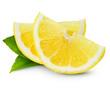 canvas print picture - lemon