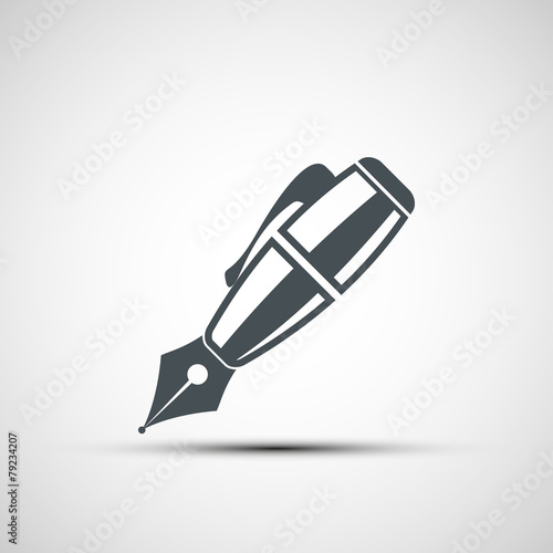 Valokuvatapetti Vector icons pen