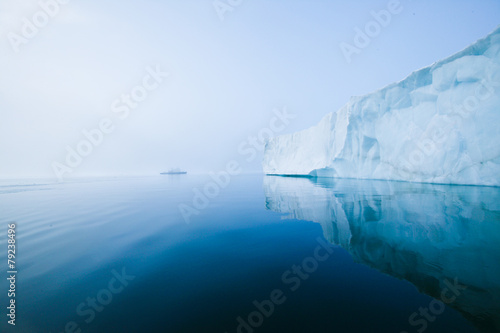 Spoed Foto op Canvas Antarctica Glaciers and icebergs