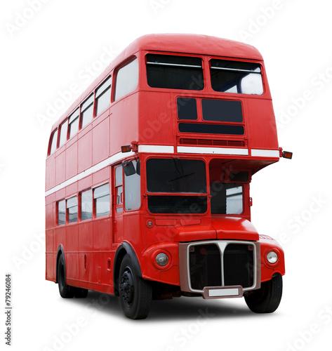 Foto op Canvas Londen rode bus Londonbus