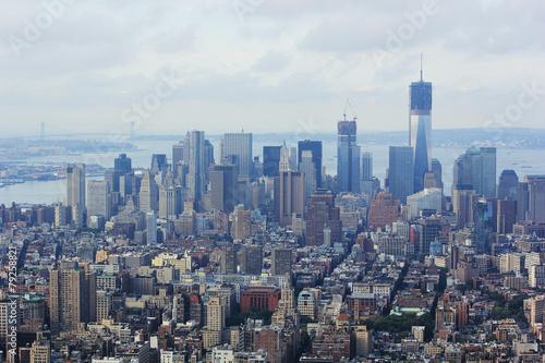 Keuken foto achterwand New York view on the New York city skyline
