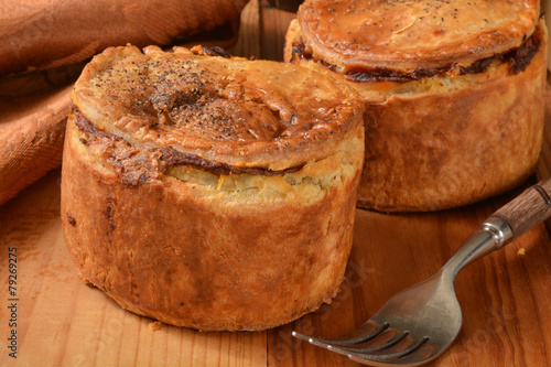 Steak and ale pies Poster