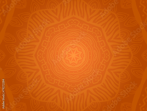 Vector background with ethnic ornament