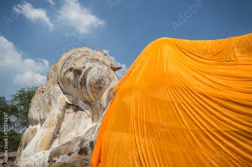 Deurstickers Nasa Reclining Buddha