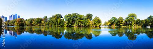 Plakat Piemont Lake w Atlancie