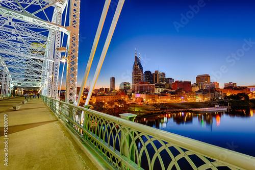 Nashvillle Skyline, Tennessee, USA #79280079