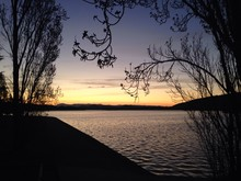Sunset By Lake Griffith, Australia