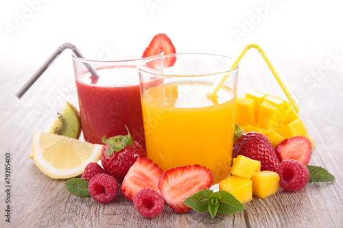 Cadres-photo bureau Jus, Sirop fruit juice