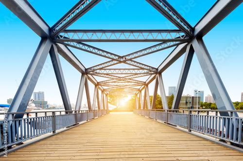 Canvas Prints Bridge Shanghai