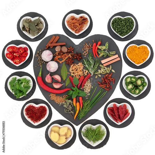 Fototapety, obrazy: Herb and Spice Sampler