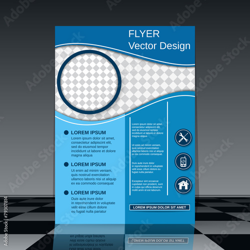 buy brochure templates - flyer vector template buy this stock vector and explore