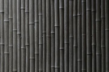 宮島の竹壁