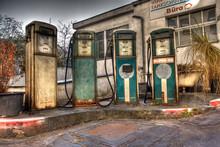 Die Oldie Tankstelle