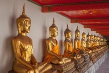 Buddhafiguren In Bangkok