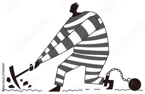 Stampe  囚人の労働