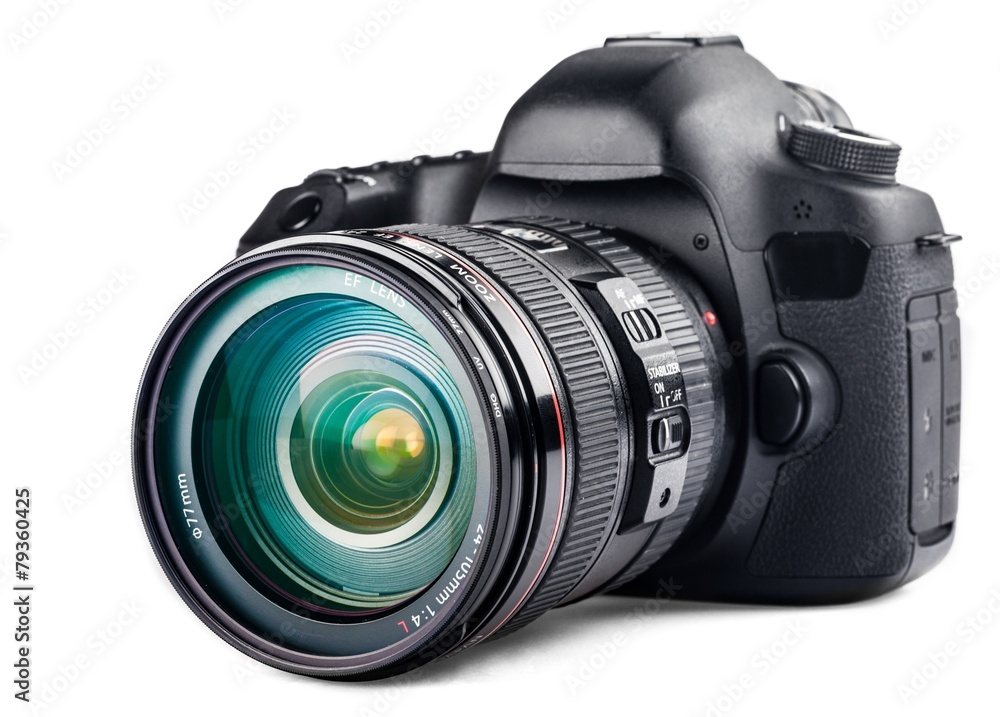 Fototapety, obrazy: Digital camera close-up