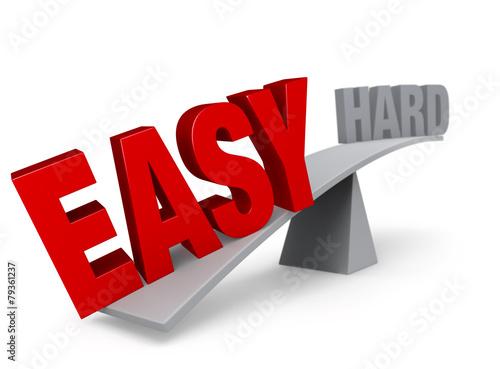 Fotografie, Obraz  It's Easy