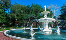 Forsyth Park Water Fountain, S...
